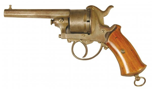 414: The Guardian 11MM Pinfire revolver