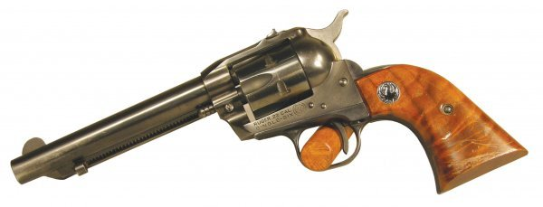 420: Ruger 22 cal. Single Six Revolver