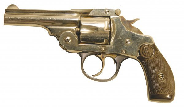 421: Iver Johnson .38 S&W cal. Double action revolver