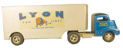 829 Smith Miller original Lyon Van Lines Toy Truck