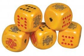 1137: Very Large Set of Bakelite Poker Dice