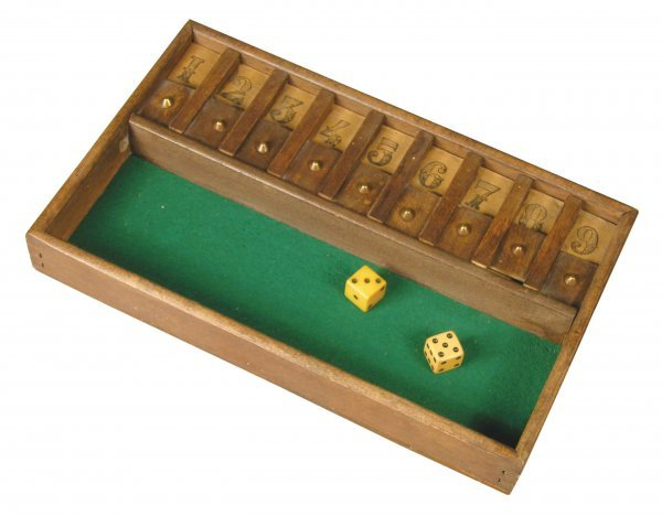 1142: Early French Wood Dice Game