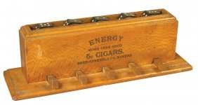 1149: Spinning Dice Game Advertising Energy Cigars
