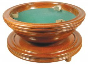 1151: Extremely Rare Hyronemus Dice Tub, ca. 1895