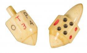 1156: Two Bone Put-N-Take Tops or Spinners