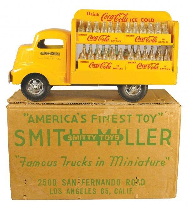 1203: Smith-Miller, Toy Truck original, Coca Cola Truck