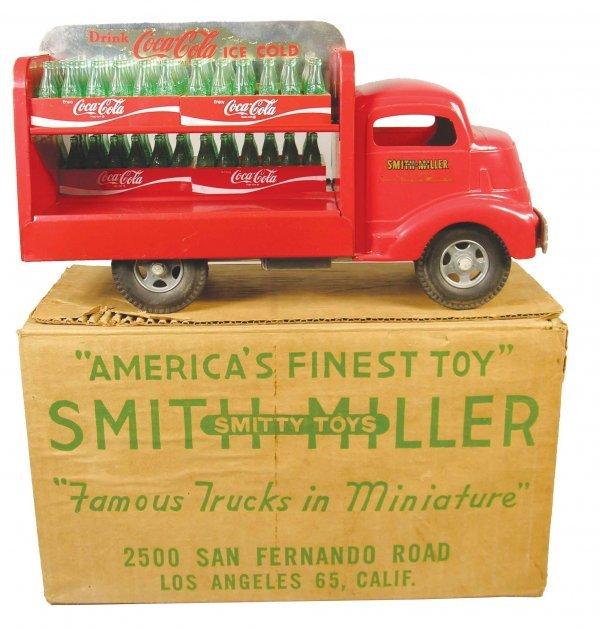 1210: Smith-Miller, Toy Truck, original, Coca Cola Truc