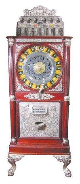 1397: Rare Caille Centaur 50 cent Upright Slot Machine