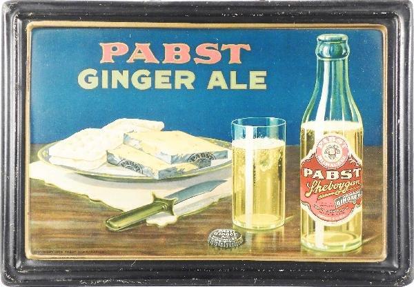 510: Pabst Sheboygan Ginger Self-Framed Tin Sign