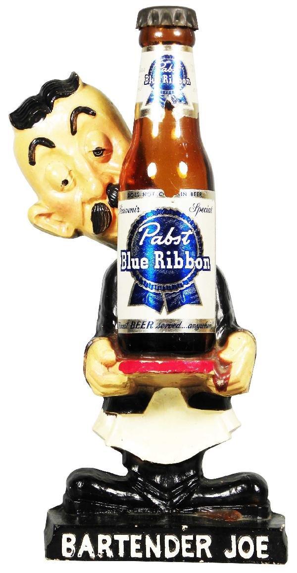 518: Pabst Blue Ribbon Beer Bartender Joe figure