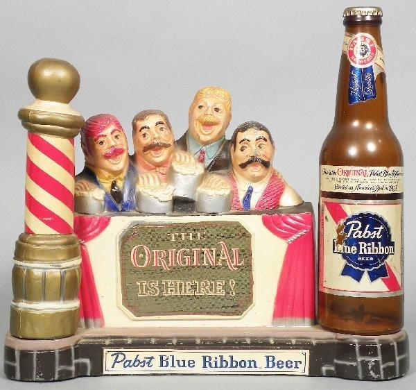 522: Pabst Blue Ribbon Barber Shop Quartet Display