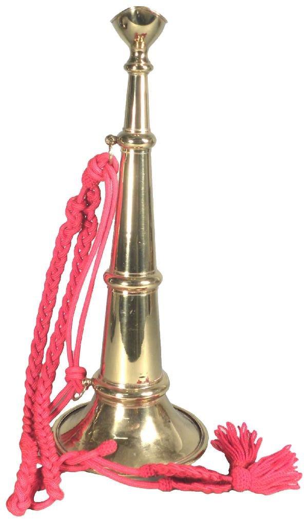 1228: Early Working Brass Fire Trumpet