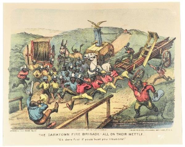 1247: The Darktown Fire Brigade- All on their Mettle.