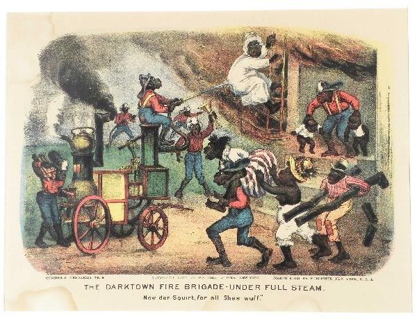 1248: The Darktown Fire Brigade-Under Full Steam