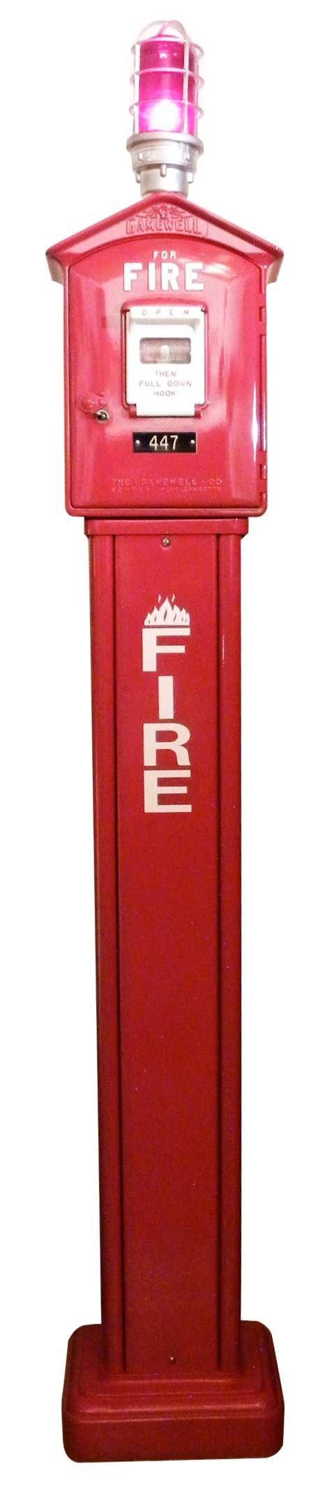 1249A: Gamewell Fire Call Box
