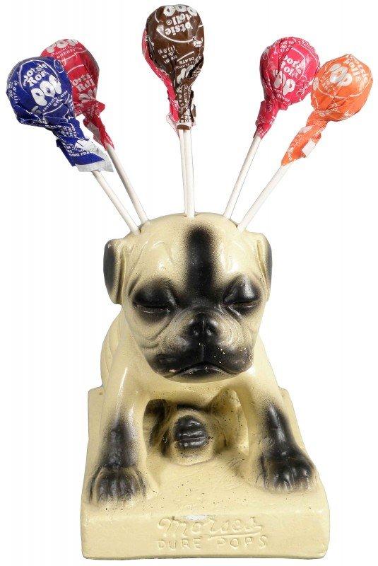 509: Morse's Pure Pops Chalk Dog Store Display