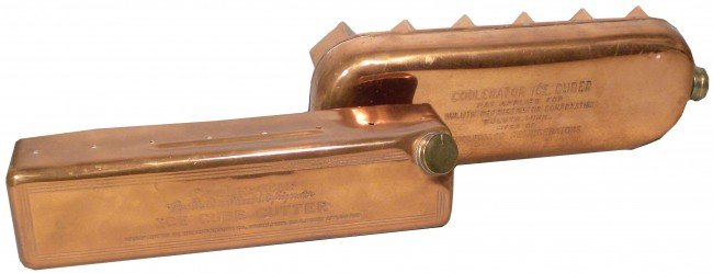 518: Lot of Two Coolerator Company Copper Items