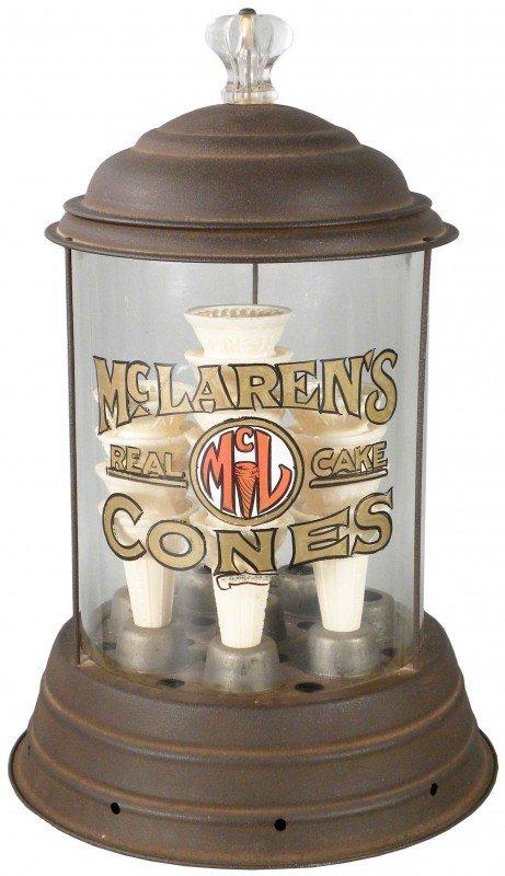 521: Mc Laren's Ice Cream Cone Dispenser
