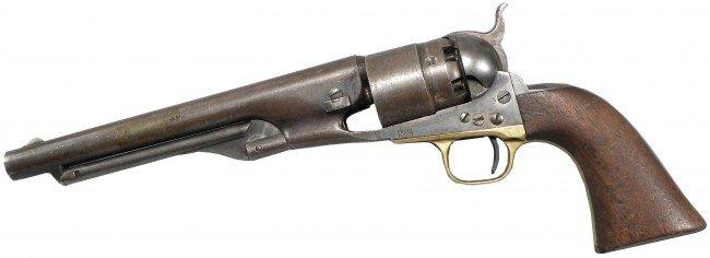 """1065: Colt Army. Round  8"""" barrel"""