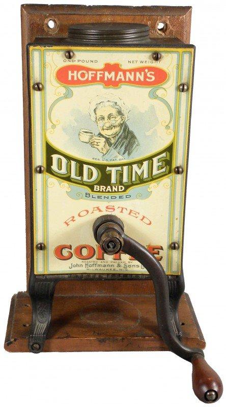 1312: Hoffmann's Old Time Brand Coffee Grinder