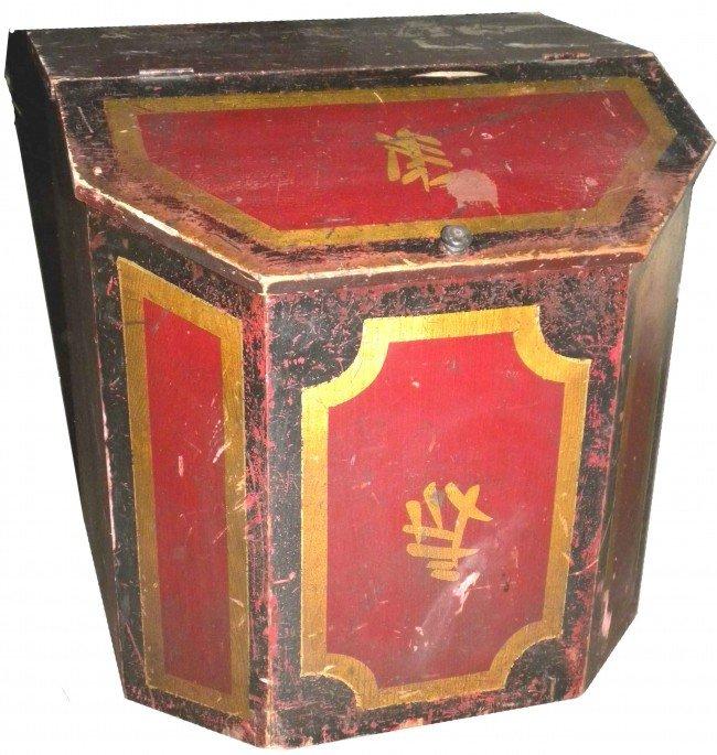 1314: Chinese Wood Store Tea Bin