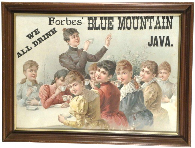 1315: Forbes Blue Mountain Java Paper Sign