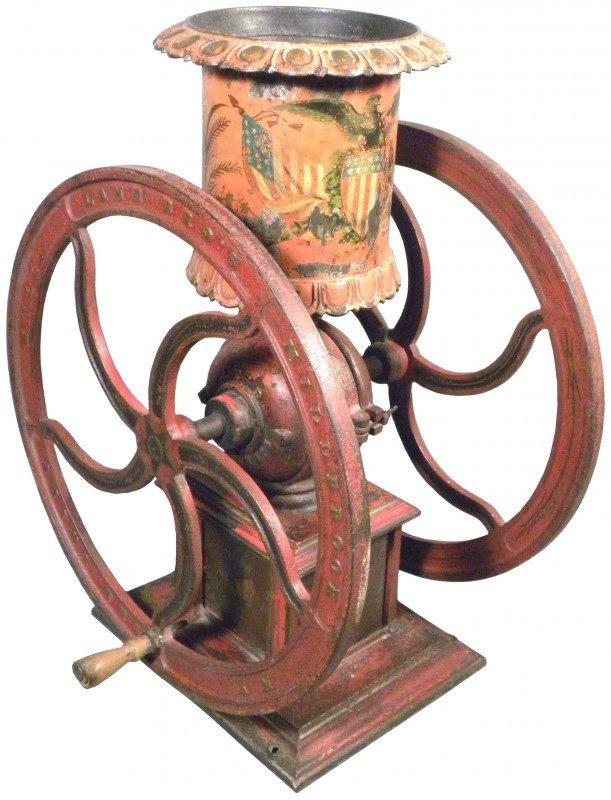 1317: Coffee Grinder with original decor