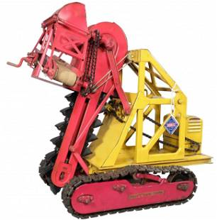 1543: Buddy L Pressed Steel Toy Trench Digger