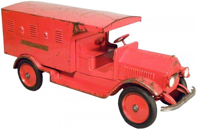 1547: Sturditoy Pressed Steel Toy Armored Truck