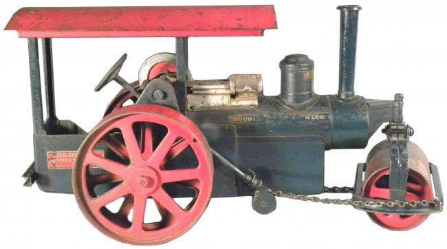 1620: Buddy L Pressed Steel Steam Roller