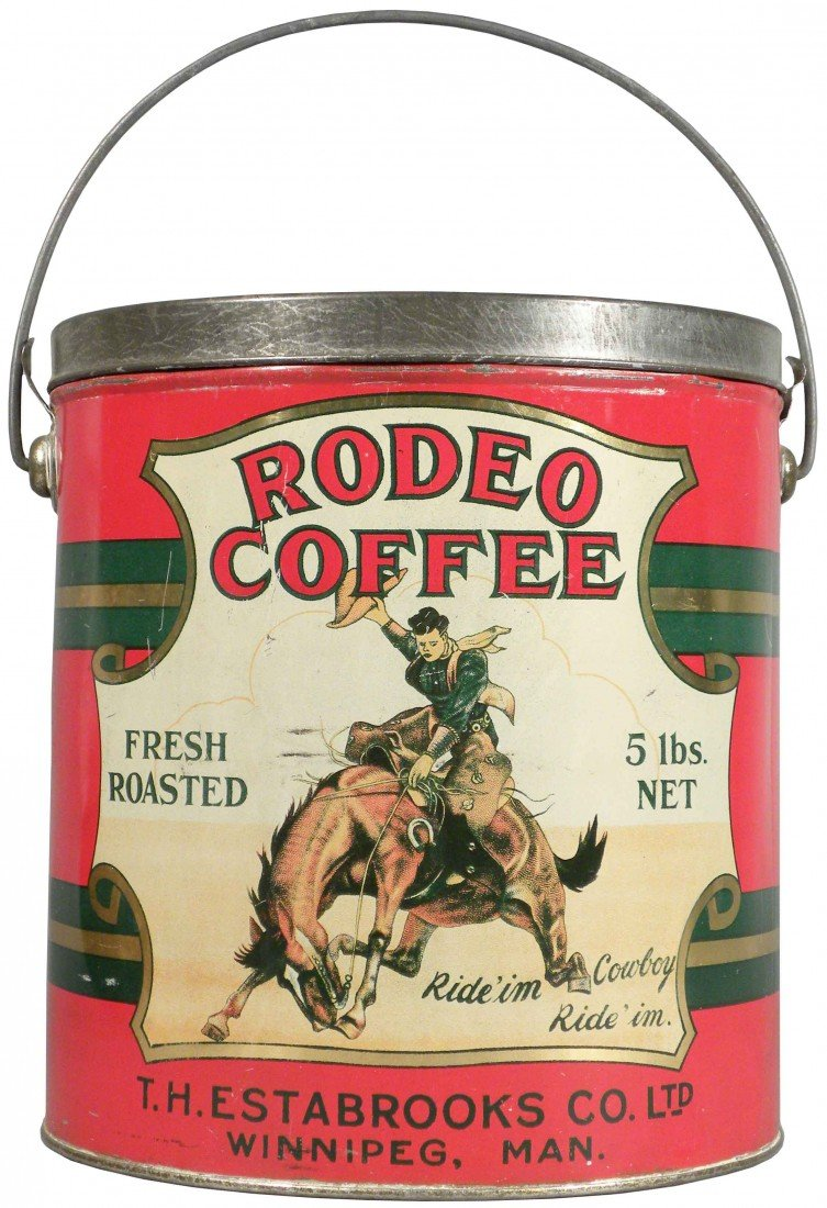 501A: Rodeo Coffee 5 lb Pail