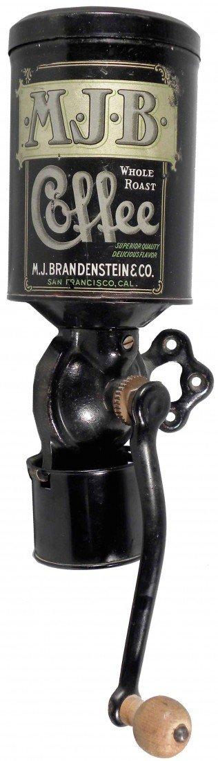 506: M.J.B. Coffee Wall Mount Grinder