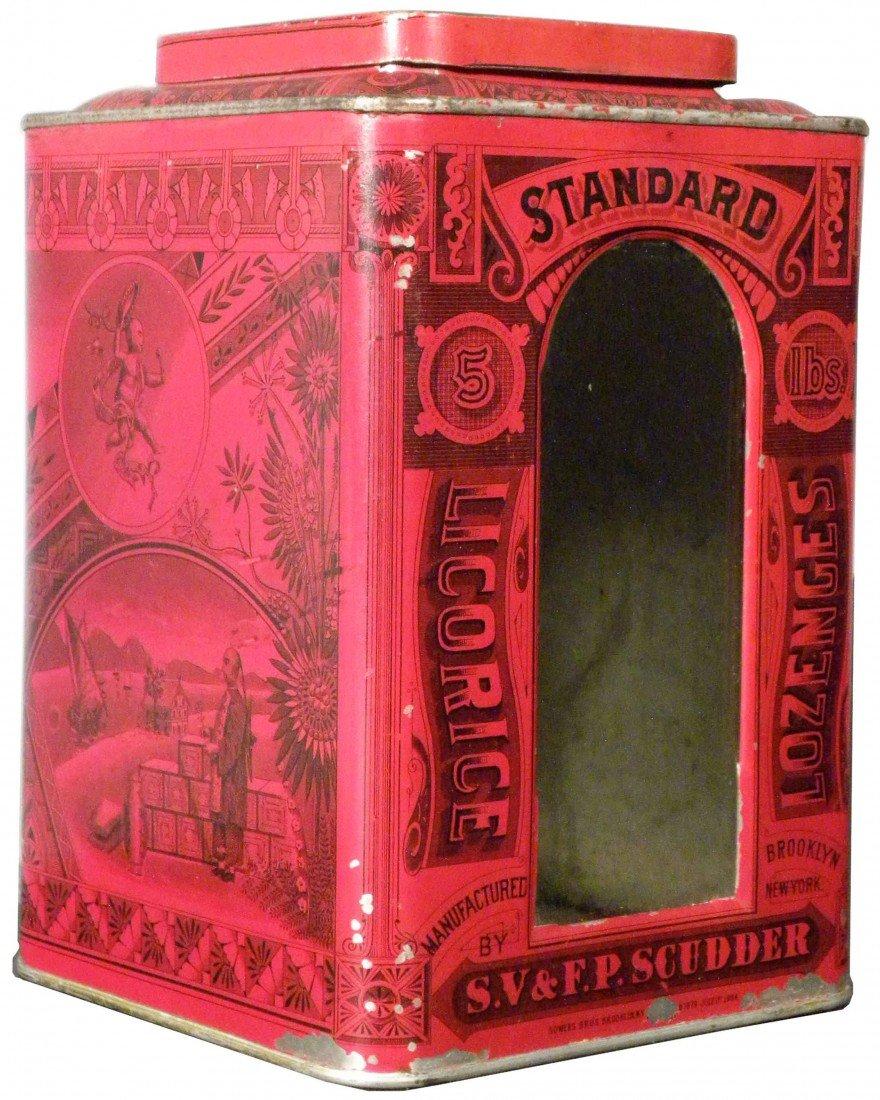 534: Standard Licorice Lozenges Store Bin