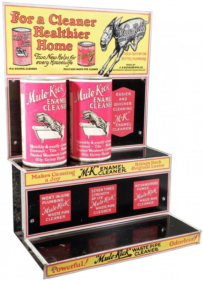 536: Mule Kick Tin Store Display w/product