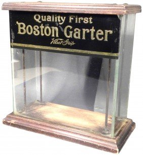 Boston Garter Store Display Case