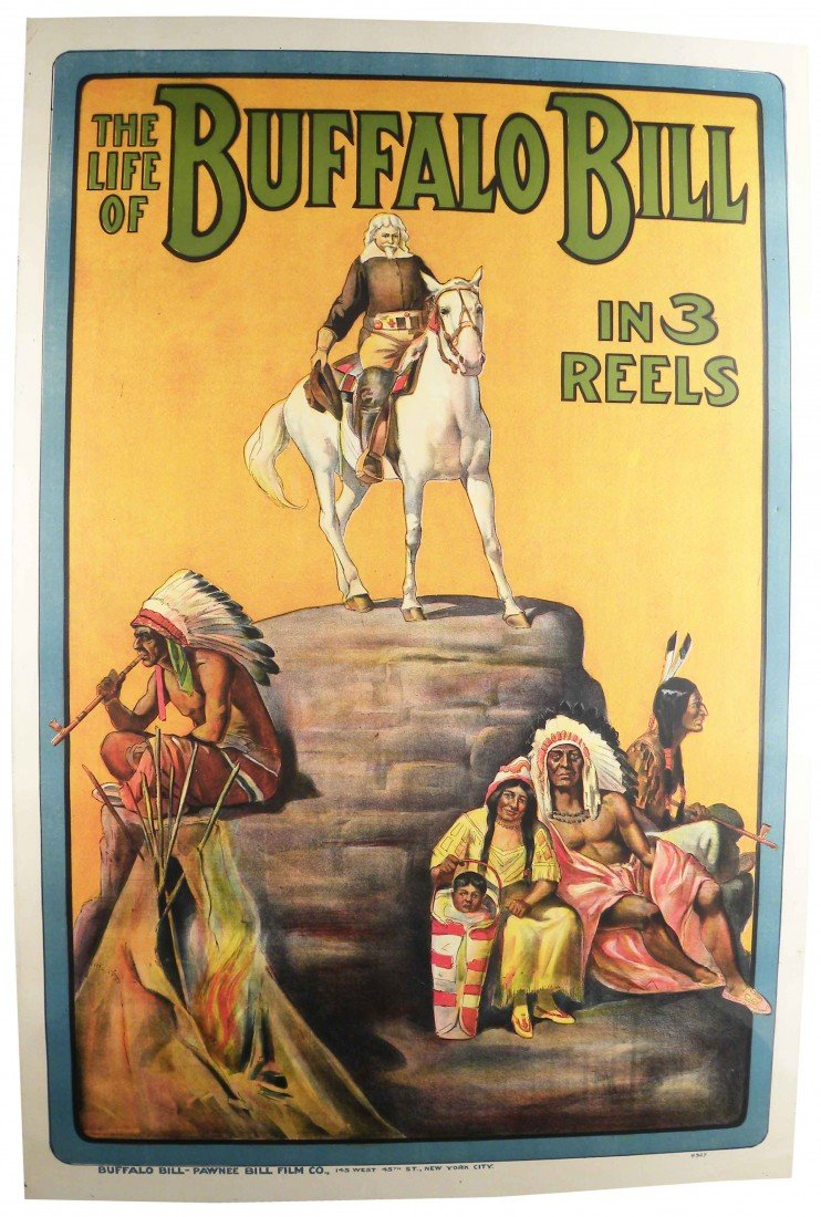 1046: The Life of Buffalo Bill in 3 Reels Movie Poster