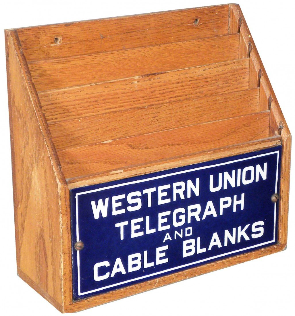 1307: Western Union Telegraph Letter Box