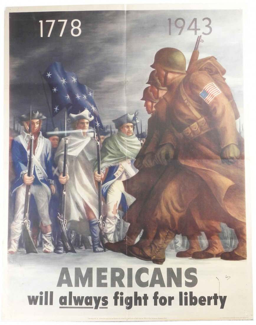1316: Military Poster 1778-1943