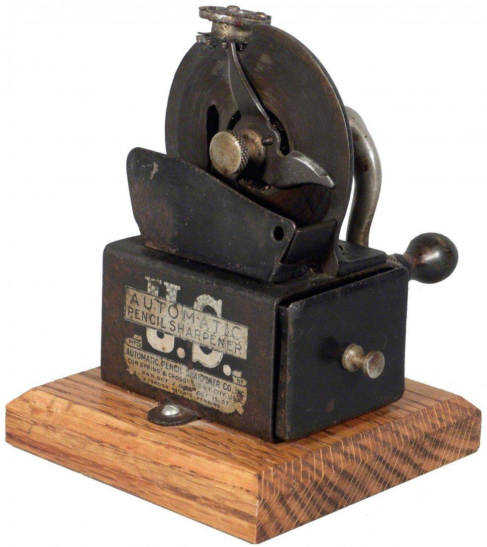1323: U.S. Automatic Pencil Sharpener