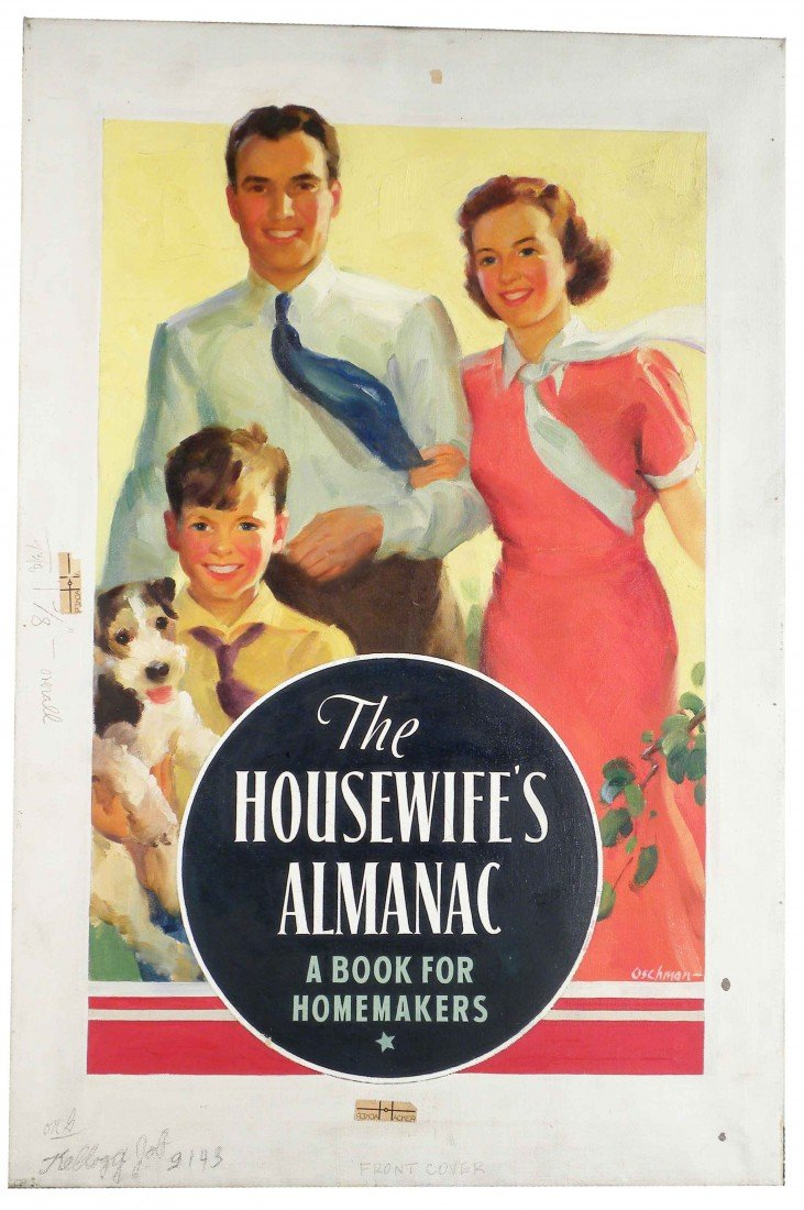 1325: The Housewife's Almanac Original Painting