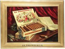 1447 La Preferencia Cigars Tin Sign