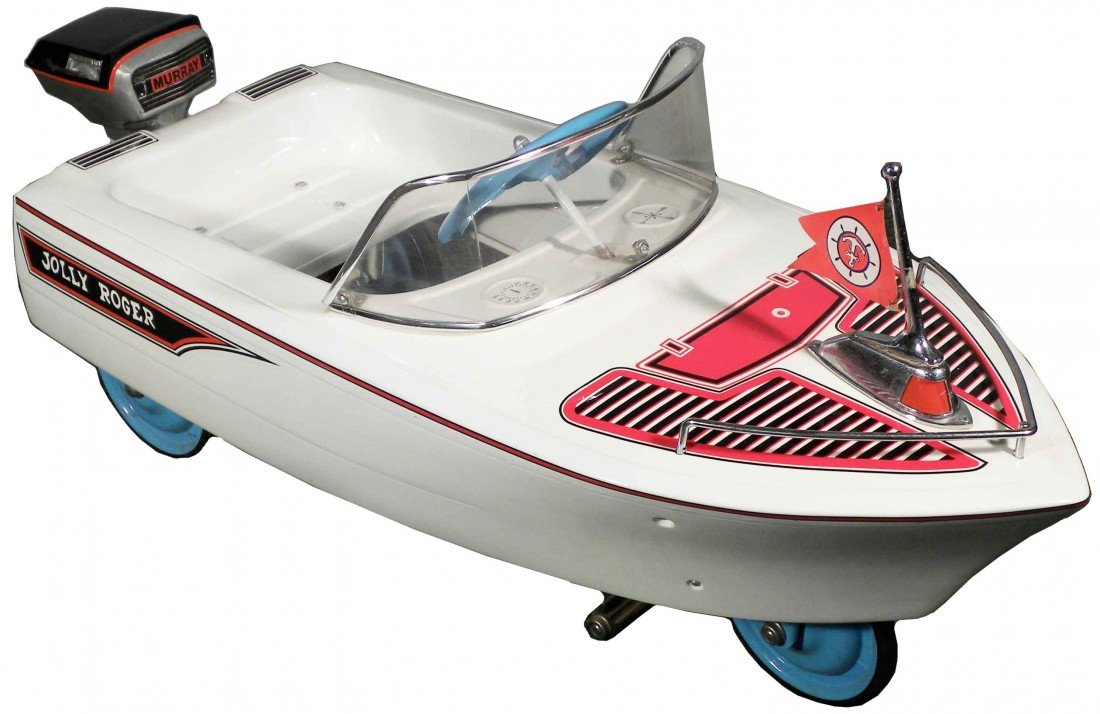 """1472: Murray """"Jolly Roger"""" Pedal Boat"""