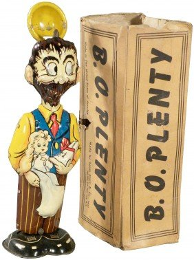 B.O. Plenty Tin Wind-Up Toy