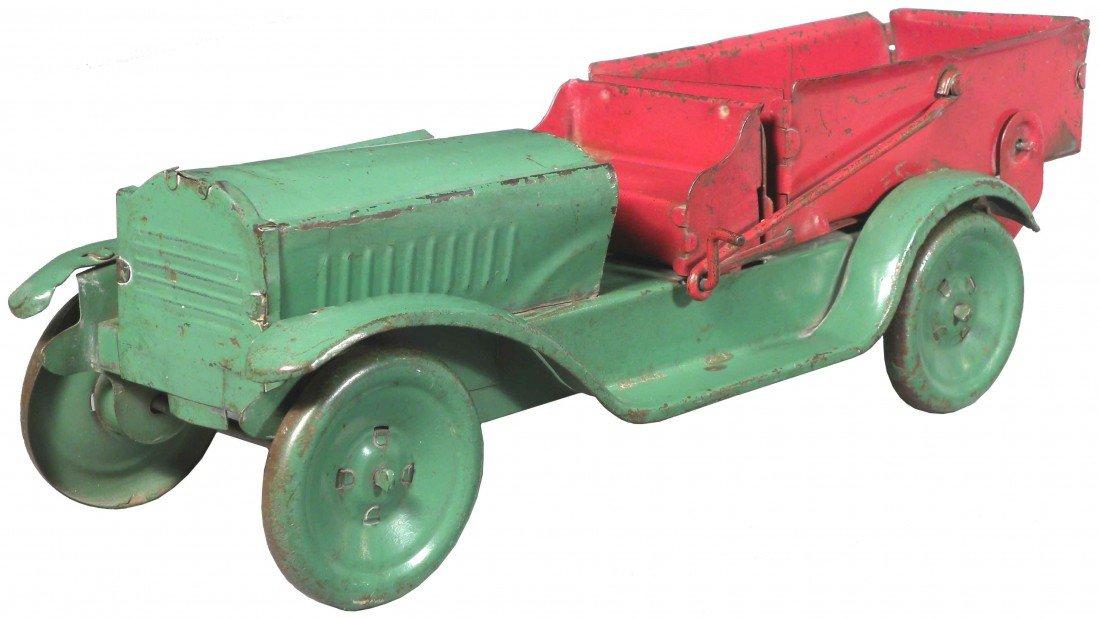 1544: Pressed Steel Toy Dump Truck