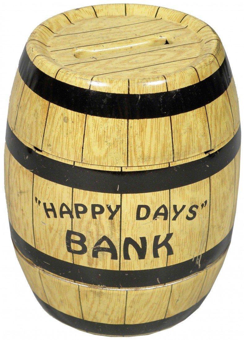 1549: J. Chein & Co. Tin Barrel Bank