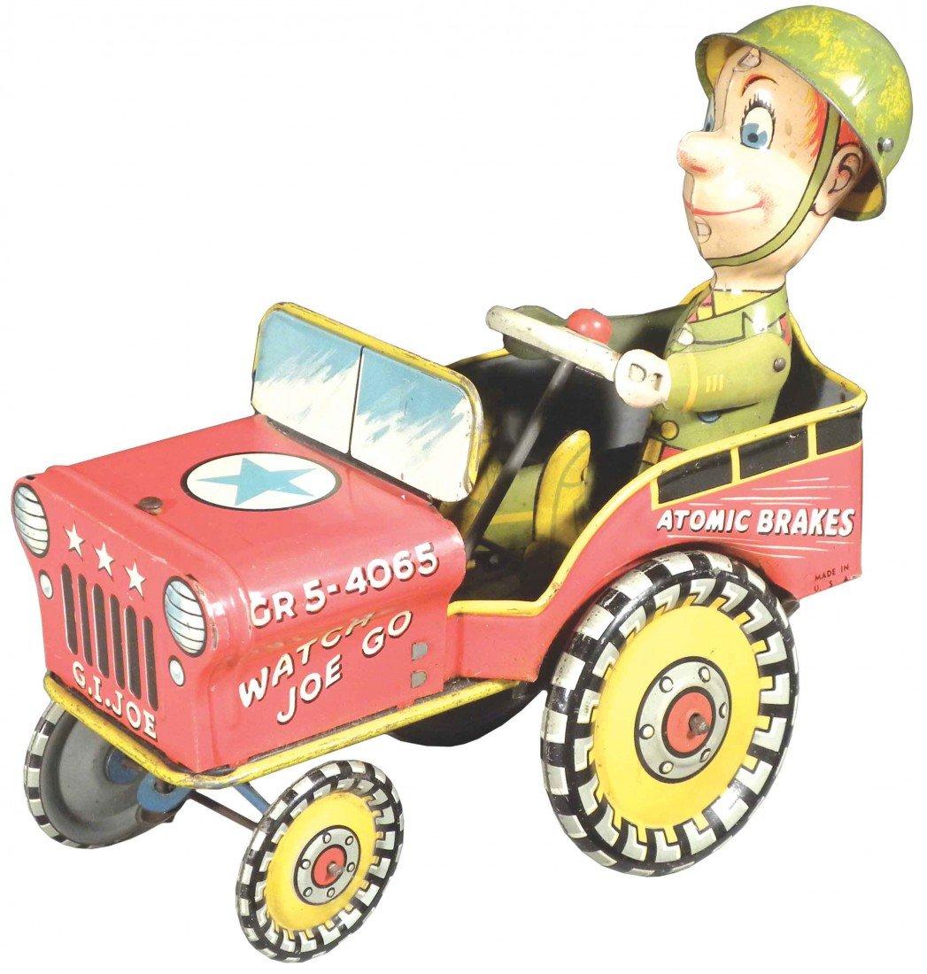 "1552: Unique Art ""G.I. Joe"" Tin Wind-Up Toy"