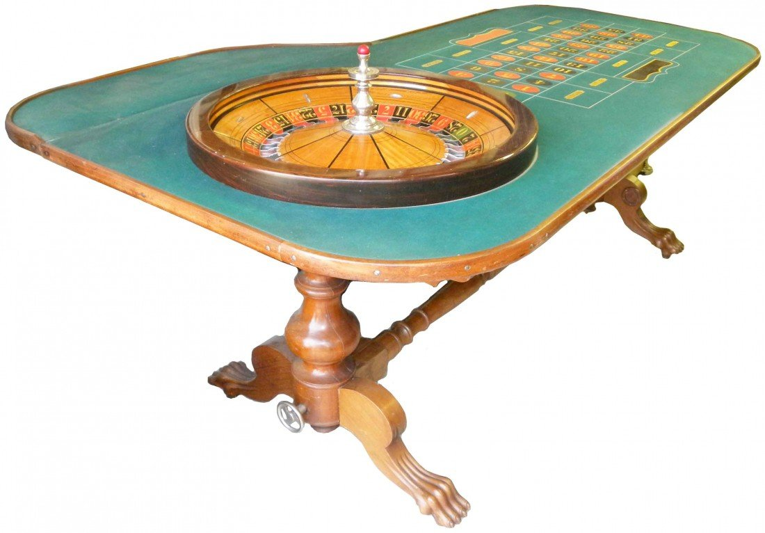 1798: L. Rude Mfg. Roulette Table