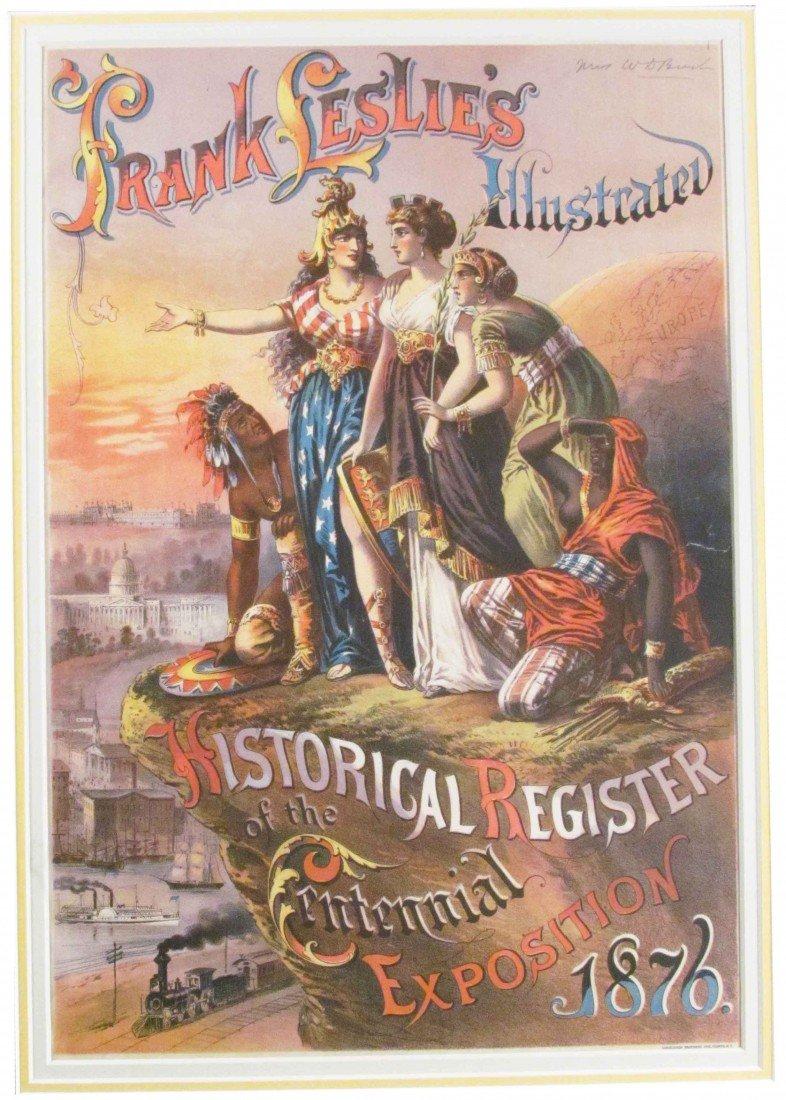 501B: Frank Leslie's Illustrated Centennial Expo 1876