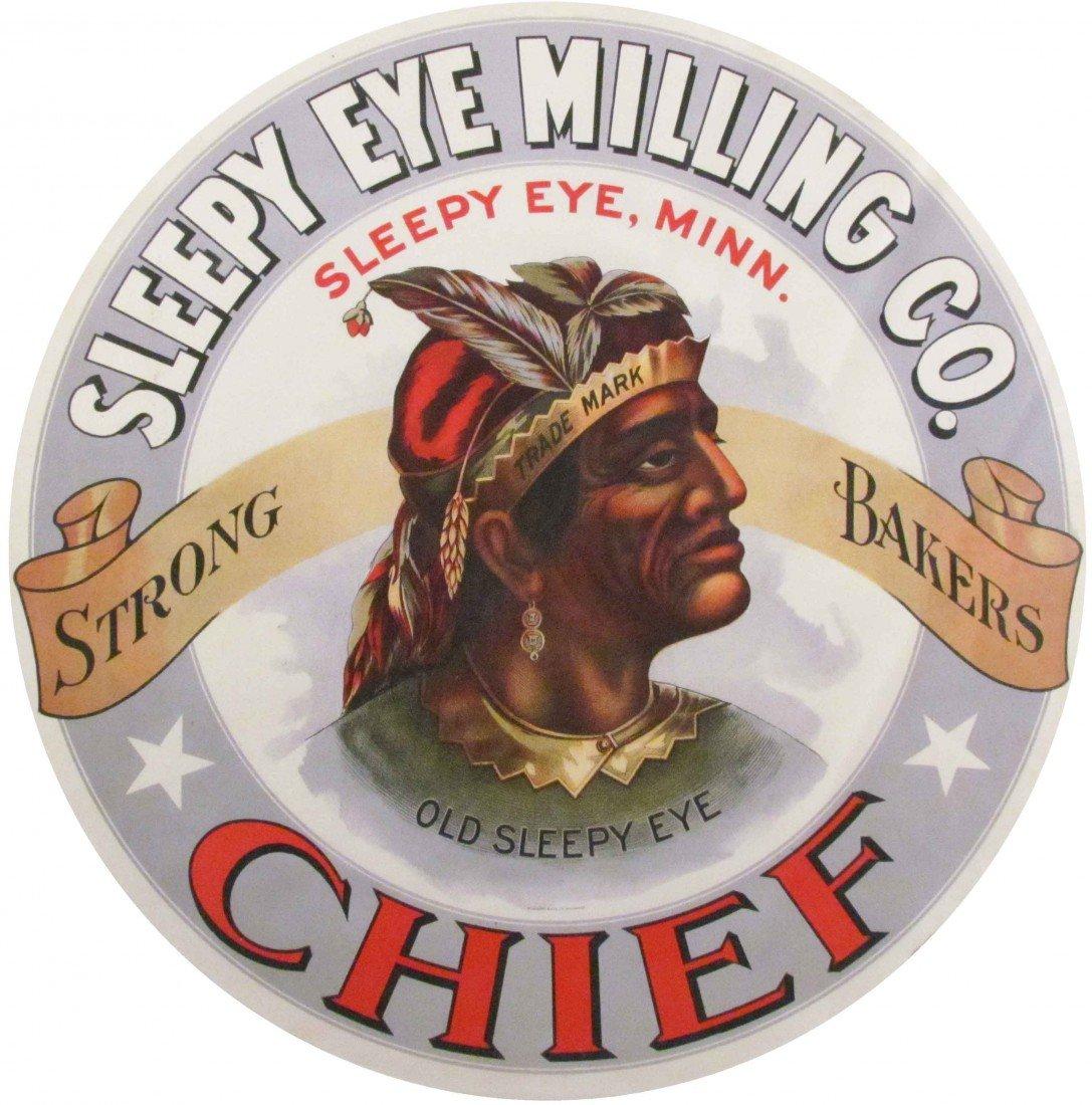 502: Sleepy Eye Milling Company Barrel Label