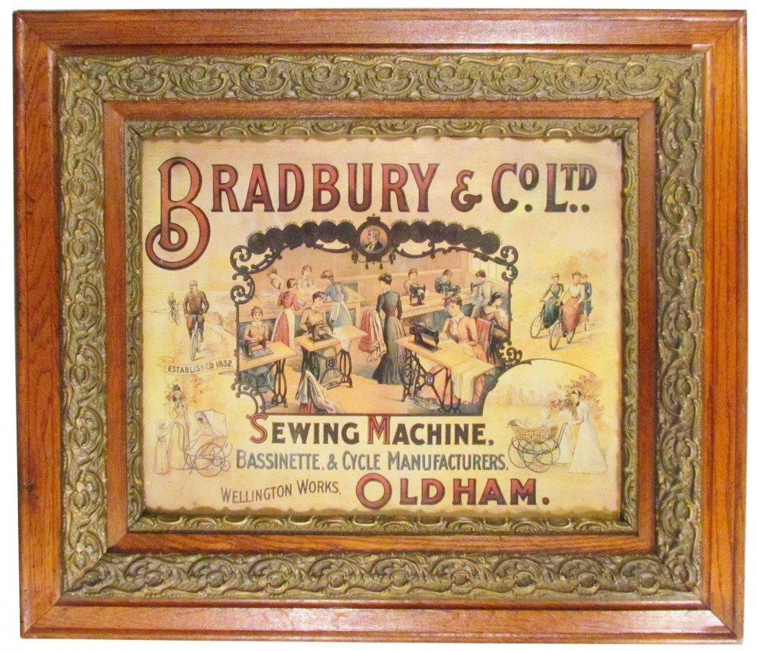 504: Bradbury & Co. Ltd. Paper Sign